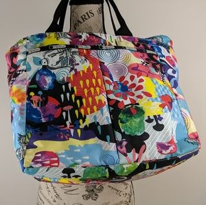 LeSportSac Artist in Residence Tote Psychedelic